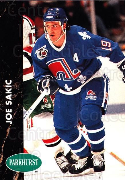 1991-92 Parkhurst #148 Joe Sakic<br/>3 In Stock - $1.00 each - <a href=https://centericecollectibles.foxycart.com/cart?name=1991-92%20Parkhurst%20%23148%20Joe%20Sakic...&price=$1.00&code=14609 class=foxycart> Buy it now! </a>