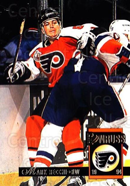 1993-94 Donruss #252 Mark Recchi<br/>5 In Stock - $1.00 each - <a href=https://centericecollectibles.foxycart.com/cart?name=1993-94%20Donruss%20%23252%20Mark%20Recchi...&quantity_max=5&price=$1.00&code=146161 class=foxycart> Buy it now! </a>