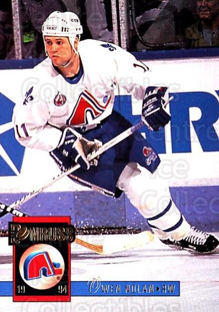 1993-94 Donruss #279 Owen Nolan<br/>5 In Stock - $1.00 each - <a href=https://centericecollectibles.foxycart.com/cart?name=1993-94%20Donruss%20%23279%20Owen%20Nolan...&quantity_max=5&price=$1.00&code=146190 class=foxycart> Buy it now! </a>