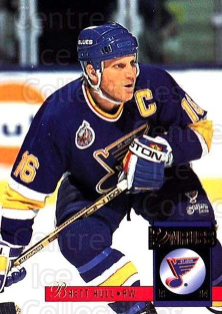 1993-94 Donruss #286 Brett Hull<br/>4 In Stock - $2.00 each - <a href=https://centericecollectibles.foxycart.com/cart?name=1993-94%20Donruss%20%23286%20Brett%20Hull...&quantity_max=4&price=$2.00&code=146198 class=foxycart> Buy it now! </a>