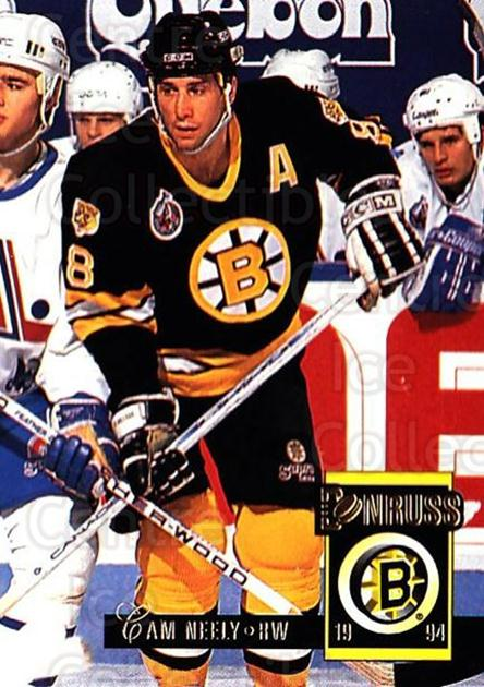 1993-94 Donruss #29 Cam Neely<br/>5 In Stock - $1.00 each - <a href=https://centericecollectibles.foxycart.com/cart?name=1993-94%20Donruss%20%2329%20Cam%20Neely...&quantity_max=5&price=$1.00&code=146202 class=foxycart> Buy it now! </a>