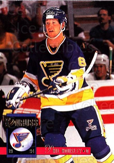 1993-94 Donruss #294 Phil Housley<br/>5 In Stock - $1.00 each - <a href=https://centericecollectibles.foxycart.com/cart?name=1993-94%20Donruss%20%23294%20Phil%20Housley...&quantity_max=5&price=$1.00&code=146207 class=foxycart> Buy it now! </a>