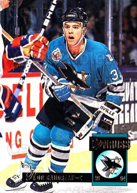 1993-94 Donruss #310 Rob Gaudreau<br/>5 In Stock - $1.00 each - <a href=https://centericecollectibles.foxycart.com/cart?name=1993-94%20Donruss%20%23310%20Rob%20Gaudreau...&quantity_max=5&price=$1.00&code=146226 class=foxycart> Buy it now! </a>