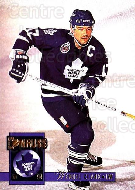 1993-94 Donruss #337 Wendel Clark<br/>4 In Stock - $1.00 each - <a href=https://centericecollectibles.foxycart.com/cart?name=1993-94%20Donruss%20%23337%20Wendel%20Clark...&quantity_max=4&price=$1.00&code=146255 class=foxycart> Buy it now! </a>