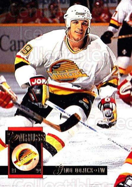 1993-94 Donruss #346 Gino OdJick<br/>4 In Stock - $1.00 each - <a href=https://centericecollectibles.foxycart.com/cart?name=1993-94%20Donruss%20%23346%20Gino%20OdJick...&quantity_max=4&price=$1.00&code=146265 class=foxycart> Buy it now! </a>