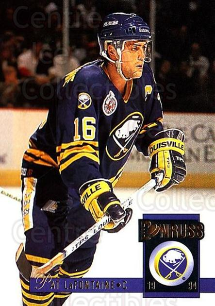 1993-94 Donruss #37 Pat LaFontaine<br/>3 In Stock - $1.00 each - <a href=https://centericecollectibles.foxycart.com/cart?name=1993-94%20Donruss%20%2337%20Pat%20LaFontaine...&quantity_max=3&price=$1.00&code=146291 class=foxycart> Buy it now! </a>