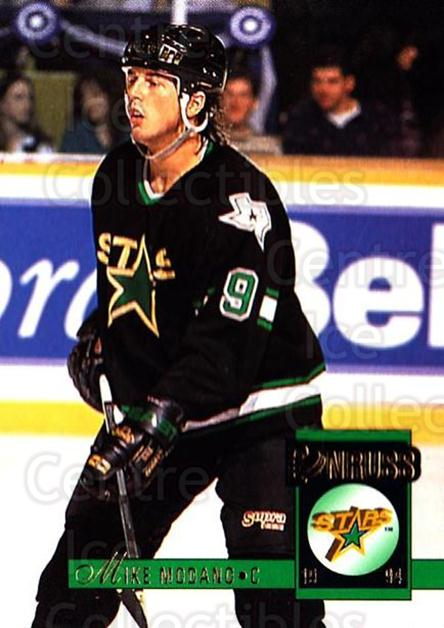 1993-94 Donruss #76 Mike Modano<br/>5 In Stock - $1.00 each - <a href=https://centericecollectibles.foxycart.com/cart?name=1993-94%20Donruss%20%2376%20Mike%20Modano...&quantity_max=5&price=$1.00&code=146462 class=foxycart> Buy it now! </a>