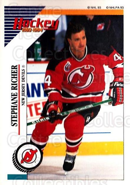 1993-94 Panini Stickers #37 Stephane Richer<br/>6 In Stock - $1.00 each - <a href=https://centericecollectibles.foxycart.com/cart?name=1993-94%20Panini%20Stickers%20%2337%20Stephane%20Richer...&quantity_max=6&price=$1.00&code=146541 class=foxycart> Buy it now! </a>