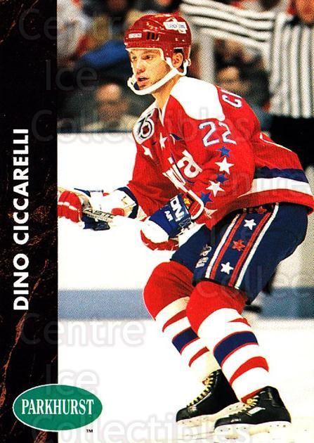 1991-92 Parkhurst #193 Dino Ciccarelli<br/>4 In Stock - $1.00 each - <a href=https://centericecollectibles.foxycart.com/cart?name=1991-92%20Parkhurst%20%23193%20Dino%20Ciccarelli...&quantity_max=4&price=$1.00&code=14656 class=foxycart> Buy it now! </a>