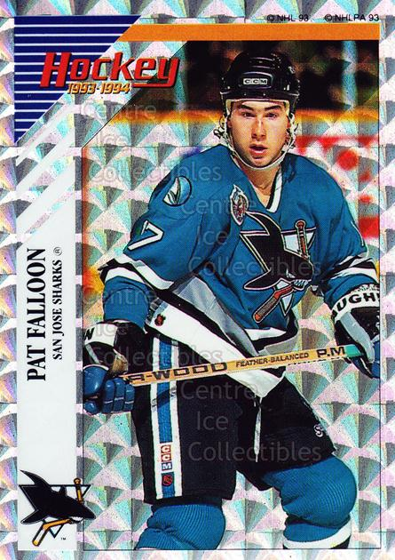 1993-94 Panini Stickers Inserts #W Pat Falloon<br/>7 In Stock - $1.00 each - <a href=https://centericecollectibles.foxycart.com/cart?name=1993-94%20Panini%20Stickers%20Inserts%20%23W%20Pat%20Falloon...&quantity_max=7&price=$1.00&code=146622 class=foxycart> Buy it now! </a>