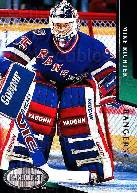 1993-94 Parkhurst #129 Mike Richter<br/>4 In Stock - $1.00 each - <a href=https://centericecollectibles.foxycart.com/cart?name=1993-94%20Parkhurst%20%23129%20Mike%20Richter...&quantity_max=4&price=$1.00&code=146637 class=foxycart> Buy it now! </a>
