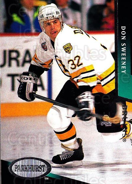 1993-94 Parkhurst #13 Don Sweeney<br/>4 In Stock - $1.00 each - <a href=https://centericecollectibles.foxycart.com/cart?name=1993-94%20Parkhurst%20%2313%20Don%20Sweeney...&quantity_max=4&price=$1.00&code=146638 class=foxycart> Buy it now! </a>