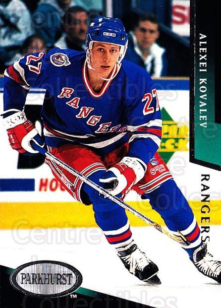 1993-94 Parkhurst #130 Alexei Kovalev<br/>4 In Stock - $1.00 each - <a href=https://centericecollectibles.foxycart.com/cart?name=1993-94%20Parkhurst%20%23130%20Alexei%20Kovalev...&quantity_max=4&price=$1.00&code=146639 class=foxycart> Buy it now! </a>