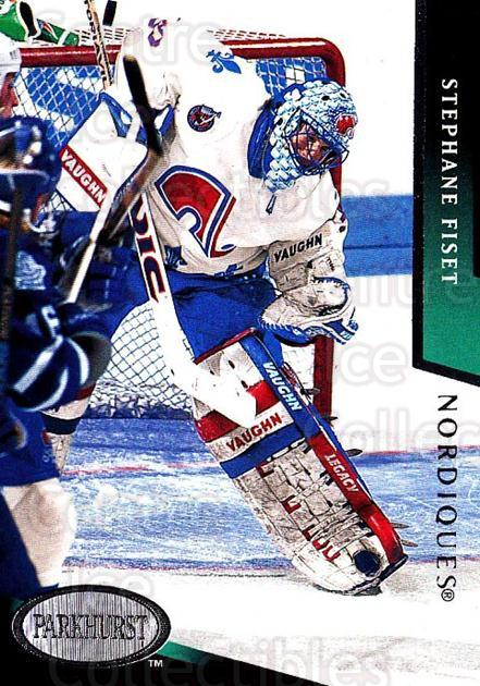 1993-94 Parkhurst #164 Stephane Fiset<br/>3 In Stock - $1.00 each - <a href=https://centericecollectibles.foxycart.com/cart?name=1993-94%20Parkhurst%20%23164%20Stephane%20Fiset...&quantity_max=3&price=$1.00&code=146657 class=foxycart> Buy it now! </a>