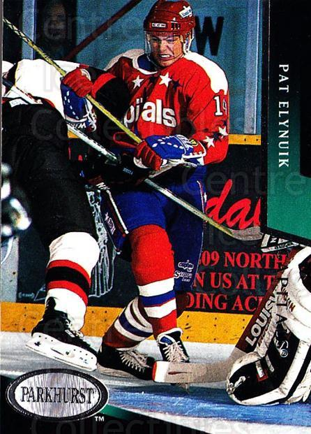 1993-94 Parkhurst #224 Pat Elynuik<br/>5 In Stock - $1.00 each - <a href=https://centericecollectibles.foxycart.com/cart?name=1993-94%20Parkhurst%20%23224%20Pat%20Elynuik...&quantity_max=5&price=$1.00&code=146688 class=foxycart> Buy it now! </a>