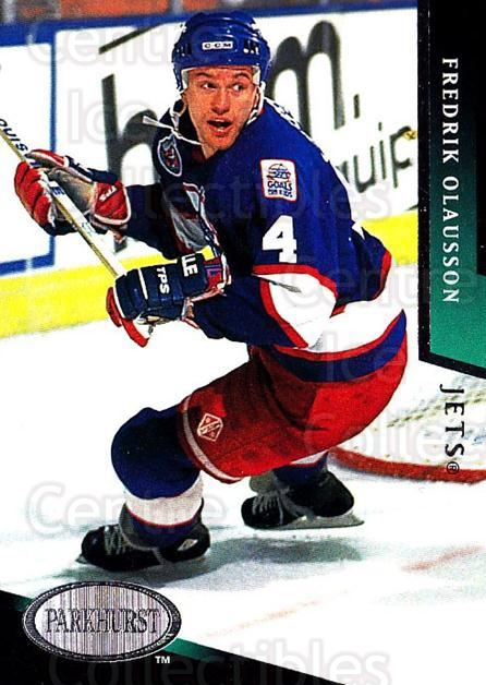 1993-94 Parkhurst #227 Fredrik Olausson<br/>3 In Stock - $1.00 each - <a href=https://centericecollectibles.foxycart.com/cart?name=1993-94%20Parkhurst%20%23227%20Fredrik%20Olausso...&quantity_max=3&price=$1.00&code=146689 class=foxycart> Buy it now! </a>