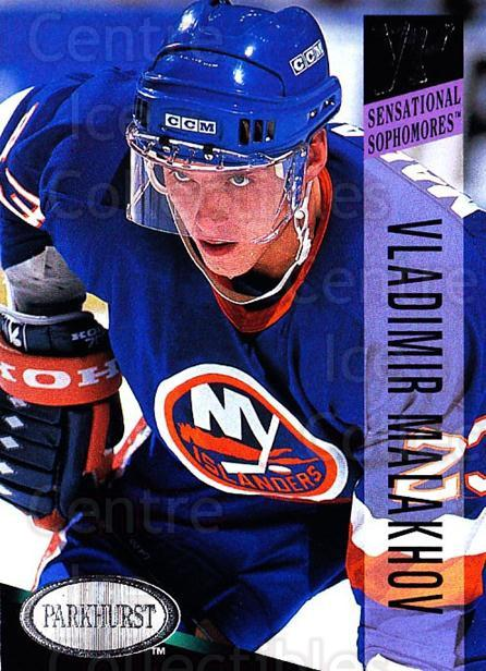 1993-94 Parkhurst #239 Vladimir Malakhov<br/>5 In Stock - $1.00 each - <a href=https://centericecollectibles.foxycart.com/cart?name=1993-94%20Parkhurst%20%23239%20Vladimir%20Malakh...&quantity_max=5&price=$1.00&code=146696 class=foxycart> Buy it now! </a>