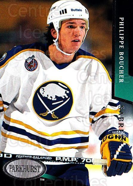 1993-94 Parkhurst #24 Philippe Boucher<br/>2 In Stock - $1.00 each - <a href=https://centericecollectibles.foxycart.com/cart?name=1993-94%20Parkhurst%20%2324%20Philippe%20Bouche...&quantity_max=2&price=$1.00&code=146697 class=foxycart> Buy it now! </a>
