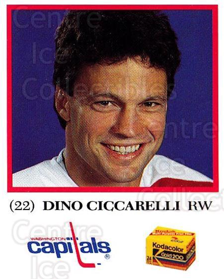 1991-92 Washington Capitals Kodak #6 Dino Ciccarelli<br/>3 In Stock - $5.00 each - <a href=https://centericecollectibles.foxycart.com/cart?name=1991-92%20Washington%20Capitals%20Kodak%20%236%20Dino%20Ciccarelli...&quantity_max=3&price=$5.00&code=14669 class=foxycart> Buy it now! </a>