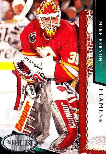 1993-94 Parkhurst #301 Mike Vernon<br/>5 In Stock - $1.00 each - <a href=https://centericecollectibles.foxycart.com/cart?name=1993-94%20Parkhurst%20%23301%20Mike%20Vernon...&quantity_max=5&price=$1.00&code=146734 class=foxycart> Buy it now! </a>