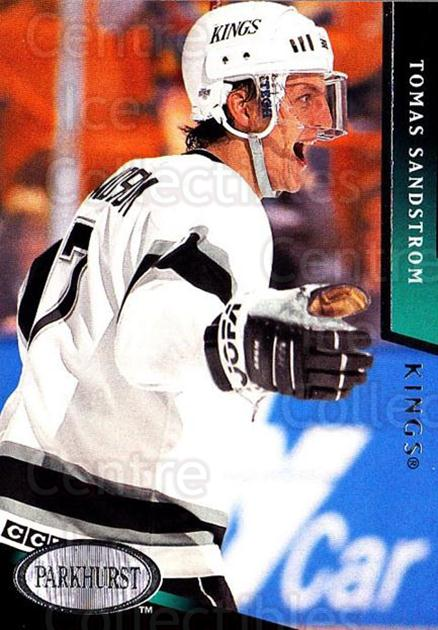 1993-94 Parkhurst #362 Tomas Sandstrom<br/>6 In Stock - $1.00 each - <a href=https://centericecollectibles.foxycart.com/cart?name=1993-94%20Parkhurst%20%23362%20Tomas%20Sandstrom...&quantity_max=6&price=$1.00&code=146773 class=foxycart> Buy it now! </a>