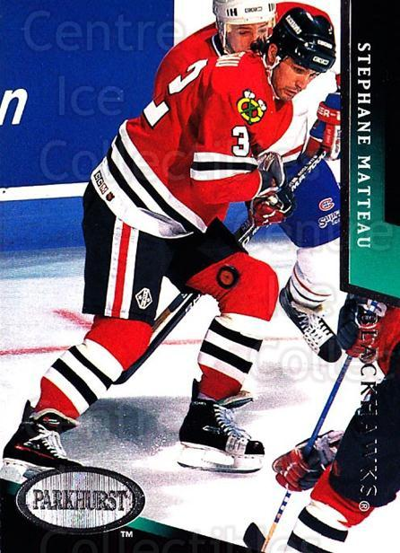 1993-94 Parkhurst #41 Stephane Matteau<br/>4 In Stock - $1.00 each - <a href=https://centericecollectibles.foxycart.com/cart?name=1993-94%20Parkhurst%20%2341%20Stephane%20Mattea...&quantity_max=4&price=$1.00&code=146796 class=foxycart> Buy it now! </a>