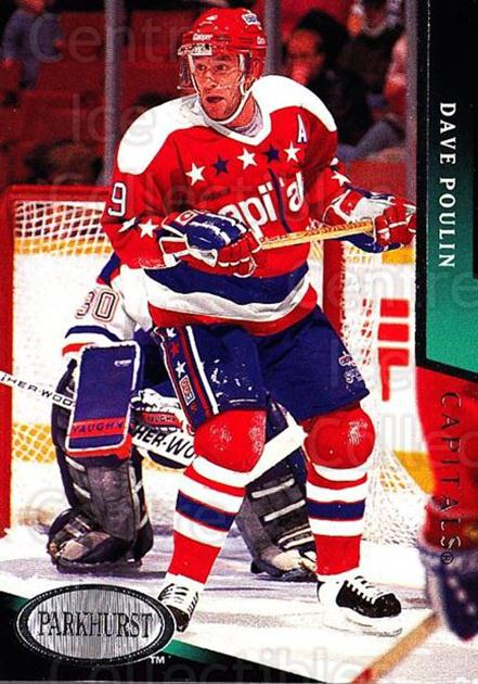 1993-94 Parkhurst #488 Dave Poulin<br/>6 In Stock - $1.00 each - <a href=https://centericecollectibles.foxycart.com/cart?name=1993-94%20Parkhurst%20%23488%20Dave%20Poulin...&quantity_max=6&price=$1.00&code=146879 class=foxycart> Buy it now! </a>