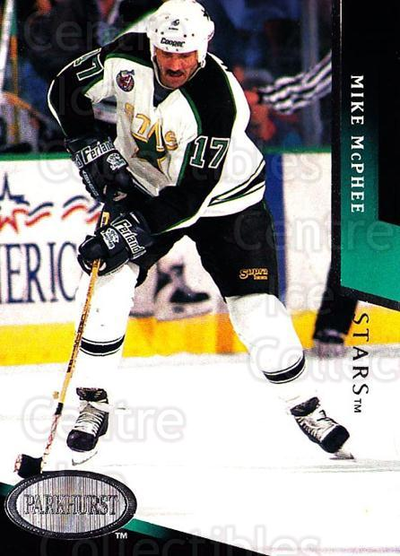 1993-94 Parkhurst #51 Mike McPhee<br/>4 In Stock - $1.00 each - <a href=https://centericecollectibles.foxycart.com/cart?name=1993-94%20Parkhurst%20%2351%20Mike%20McPhee...&quantity_max=4&price=$1.00&code=146901 class=foxycart> Buy it now! </a>