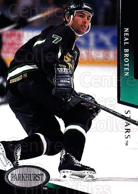1993-94 Parkhurst #54 Neal Broten<br/>3 In Stock - $1.00 each - <a href=https://centericecollectibles.foxycart.com/cart?name=1993-94%20Parkhurst%20%2354%20Neal%20Broten...&quantity_max=3&price=$1.00&code=146930 class=foxycart> Buy it now! </a>