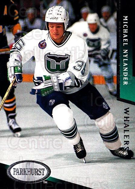 1993-94 Parkhurst #83 Michael Nylander<br/>4 In Stock - $1.00 each - <a href=https://centericecollectibles.foxycart.com/cart?name=1993-94%20Parkhurst%20%2383%20Michael%20Nylande...&quantity_max=4&price=$1.00&code=146957 class=foxycart> Buy it now! </a>