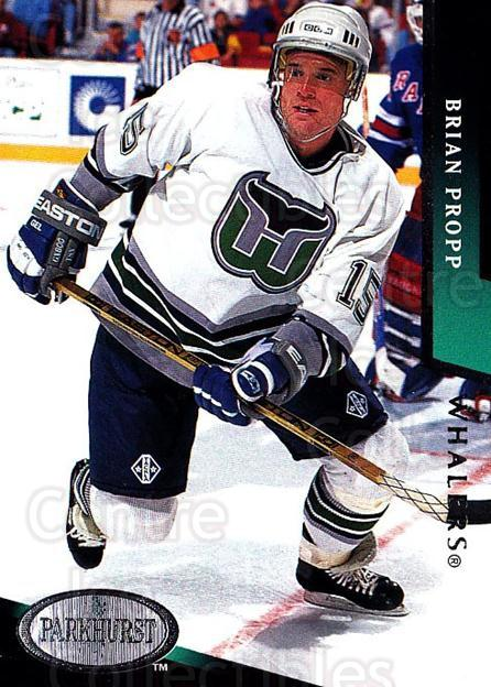 1993-94 Parkhurst #85 Brian Propp<br/>2 In Stock - $1.00 each - <a href=https://centericecollectibles.foxycart.com/cart?name=1993-94%20Parkhurst%20%2385%20Brian%20Propp...&quantity_max=2&price=$1.00&code=146959 class=foxycart> Buy it now! </a>