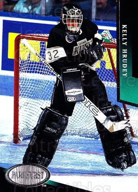 1993-94 Parkhurst #97 Kelly Hrudey<br/>3 In Stock - $1.00 each - <a href=https://centericecollectibles.foxycart.com/cart?name=1993-94%20Parkhurst%20%2397%20Kelly%20Hrudey...&quantity_max=3&price=$1.00&code=146969 class=foxycart> Buy it now! </a>