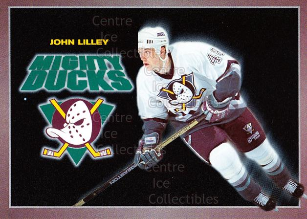 1994-95 Anaheim Mighty Ducks Carls Jr. #17 John Lilley<br/>14 In Stock - $3.00 each - <a href=https://centericecollectibles.foxycart.com/cart?name=1994-95%20Anaheim%20Mighty%20Ducks%20Carls%20Jr.%20%2317%20John%20Lilley...&quantity_max=14&price=$3.00&code=1469 class=foxycart> Buy it now! </a>