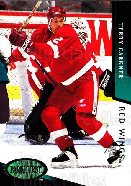 1993-94 Parkhurst Emerald #332 Terry Carkner<br/>7 In Stock - $2.00 each - <a href=https://centericecollectibles.foxycart.com/cart?name=1993-94%20Parkhurst%20Emerald%20%23332%20Terry%20Carkner...&quantity_max=7&price=$2.00&code=147062 class=foxycart> Buy it now! </a>