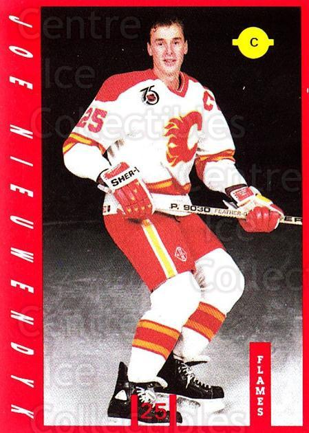 1991-92 Calgary Flames IGA #13 Joe Nieuwendyk<br/>11 In Stock - $3.00 each - <a href=https://centericecollectibles.foxycart.com/cart?name=1991-92%20Calgary%20Flames%20IGA%20%2313%20Joe%20Nieuwendyk...&quantity_max=11&price=$3.00&code=14716 class=foxycart> Buy it now! </a>