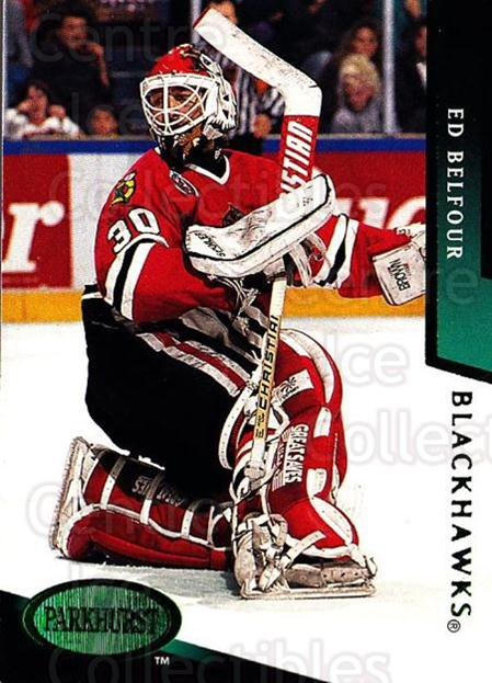 1993-94 Parkhurst Emerald #44 Ed Belfour<br/>1 In Stock - $3.00 each - <a href=https://centericecollectibles.foxycart.com/cart?name=1993-94%20Parkhurst%20Emerald%20%2344%20Ed%20Belfour...&price=$3.00&code=147174 class=foxycart> Buy it now! </a>