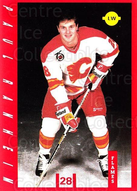 1991-92 Calgary Flames IGA #16 Paul Ranheim<br/>15 In Stock - $3.00 each - <a href=https://centericecollectibles.foxycart.com/cart?name=1991-92%20Calgary%20Flames%20IGA%20%2316%20Paul%20Ranheim...&quantity_max=15&price=$3.00&code=14718 class=foxycart> Buy it now! </a>