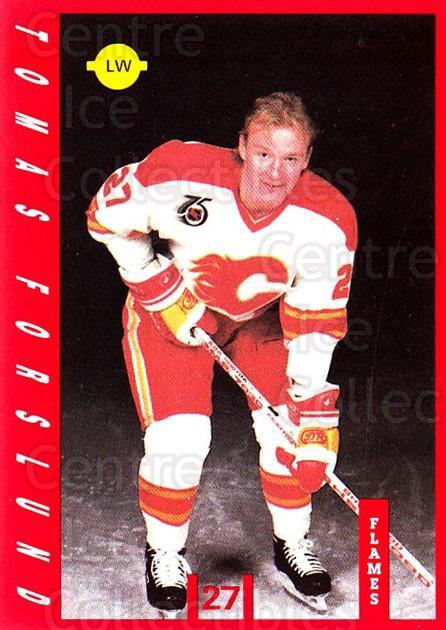 1991-92 Calgary Flames IGA #2 Tomas Forslund<br/>2 In Stock - $3.00 each - <a href=https://centericecollectibles.foxycart.com/cart?name=1991-92%20Calgary%20Flames%20IGA%20%232%20Tomas%20Forslund...&price=$3.00&code=14720 class=foxycart> Buy it now! </a>