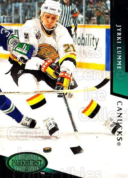 1993-94 Parkhurst Emerald #483 Jyrki Lumme<br/>5 In Stock - $2.00 each - <a href=https://centericecollectibles.foxycart.com/cart?name=1993-94%20Parkhurst%20Emerald%20%23483%20Jyrki%20Lumme...&quantity_max=5&price=$2.00&code=147221 class=foxycart> Buy it now! </a>