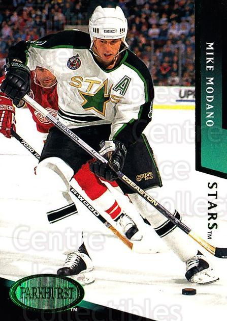 1993-94 Parkhurst Emerald #49 Mike Modano<br/>5 In Stock - $2.00 each - <a href=https://centericecollectibles.foxycart.com/cart?name=1993-94%20Parkhurst%20Emerald%20%2349%20Mike%20Modano...&quantity_max=5&price=$2.00&code=147227 class=foxycart> Buy it now! </a>