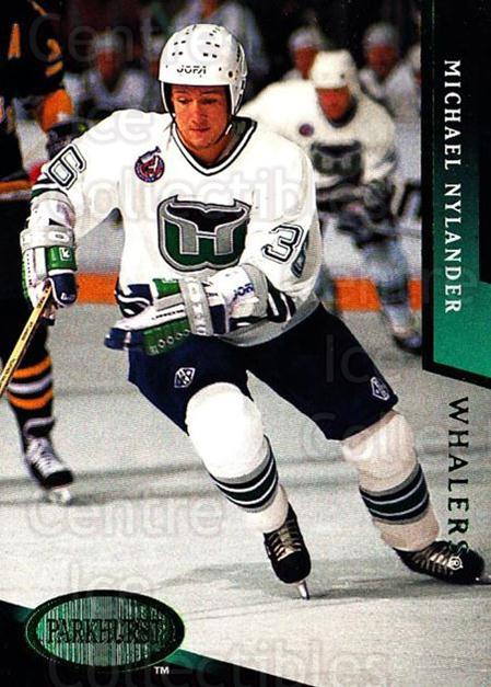 1993-94 Parkhurst Emerald #83 Michael Nylander<br/>6 In Stock - $2.00 each - <a href=https://centericecollectibles.foxycart.com/cart?name=1993-94%20Parkhurst%20Emerald%20%2383%20Michael%20Nylande...&quantity_max=6&price=$2.00&code=147301 class=foxycart> Buy it now! </a>