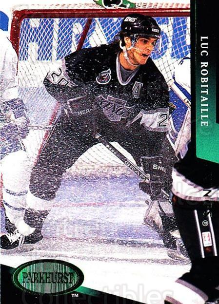 1993-94 Parkhurst Emerald #91 Luc Robitaille<br/>6 In Stock - $2.00 each - <a href=https://centericecollectibles.foxycart.com/cart?name=1993-94%20Parkhurst%20Emerald%20%2391%20Luc%20Robitaille...&quantity_max=6&price=$2.00&code=147308 class=foxycart> Buy it now! </a>