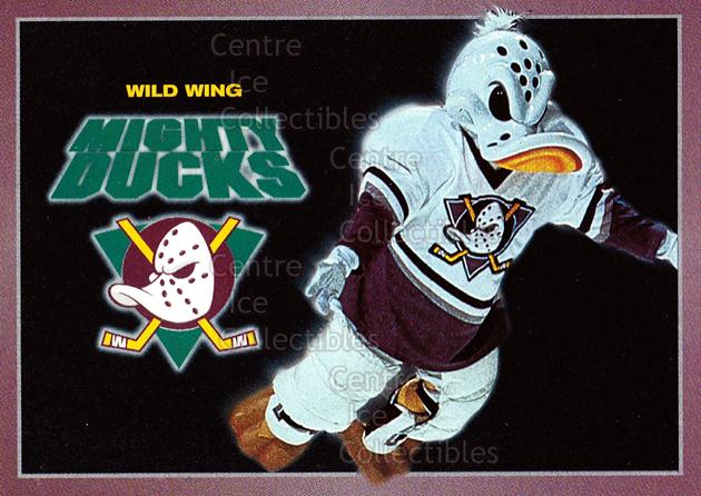 1994-95 Anaheim Mighty Ducks Carls Jr. #26 Mascot<br/>3 In Stock - $3.00 each - <a href=https://centericecollectibles.foxycart.com/cart?name=1994-95%20Anaheim%20Mighty%20Ducks%20Carls%20Jr.%20%2326%20Mascot...&quantity_max=3&price=$3.00&code=1479 class=foxycart> Buy it now! </a>