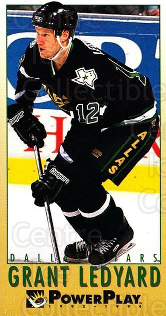 1993-94 PowerPlay #325 Grant Ledyard<br/>8 In Stock - $1.00 each - <a href=https://centericecollectibles.foxycart.com/cart?name=1993-94%20PowerPlay%20%23325%20Grant%20Ledyard...&quantity_max=8&price=$1.00&code=148092 class=foxycart> Buy it now! </a>