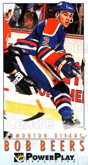 1993-94 PowerPlay #338 Bob Beers<br/>7 In Stock - $1.00 each - <a href=https://centericecollectibles.foxycart.com/cart?name=1993-94%20PowerPlay%20%23338%20Bob%20Beers...&quantity_max=7&price=$1.00&code=148104 class=foxycart> Buy it now! </a>