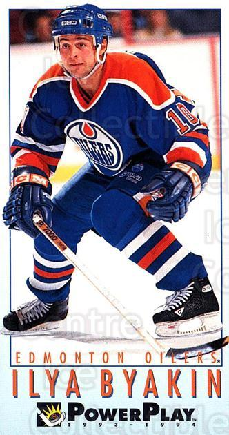 1993-94 PowerPlay #341 Ilya Byakin<br/>8 In Stock - $1.00 each - <a href=https://centericecollectibles.foxycart.com/cart?name=1993-94%20PowerPlay%20%23341%20Ilya%20Byakin...&quantity_max=8&price=$1.00&code=148107 class=foxycart> Buy it now! </a>