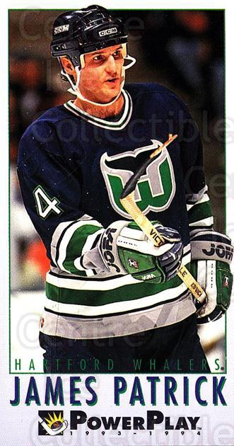 1993-94 PowerPlay #353 James Patrick<br/>8 In Stock - $1.00 each - <a href=https://centericecollectibles.foxycart.com/cart?name=1993-94%20PowerPlay%20%23353%20James%20Patrick...&quantity_max=8&price=$1.00&code=148119 class=foxycart> Buy it now! </a>