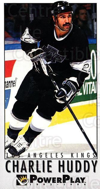 1993-94 PowerPlay #361 Charlie Huddy<br/>7 In Stock - $1.00 each - <a href=https://centericecollectibles.foxycart.com/cart?name=1993-94%20PowerPlay%20%23361%20Charlie%20Huddy...&quantity_max=7&price=$1.00&code=148128 class=foxycart> Buy it now! </a>