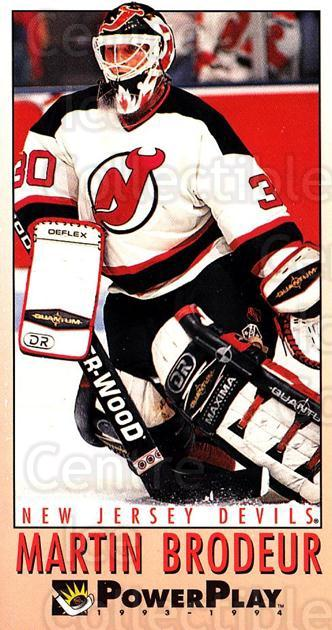 1993-94 PowerPlay #374 Martin Brodeur<br/>3 In Stock - $2.00 each - <a href=https://centericecollectibles.foxycart.com/cart?name=1993-94%20PowerPlay%20%23374%20Martin%20Brodeur...&price=$2.00&code=148142 class=foxycart> Buy it now! </a>