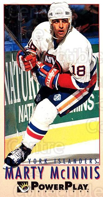 1993-94 PowerPlay #385 Marty McInnis<br/>8 In Stock - $1.00 each - <a href=https://centericecollectibles.foxycart.com/cart?name=1993-94%20PowerPlay%20%23385%20Marty%20McInnis...&quantity_max=8&price=$1.00&code=148153 class=foxycart> Buy it now! </a>
